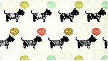 Sketchy Dogs - Tappeto da bagno antiscivolo per