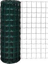 SKM Recinzione Euro in Acciaio 10x1,7 m Verde