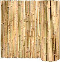 SKM Recinzione in bambù 300x100 cm