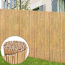 SKM Recinzione in bambù 300x125 cm