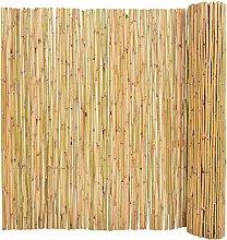 SKM Recinzione in bambù 300x150 cm