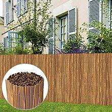 SKM Recinzione in bambù 500x100 cm