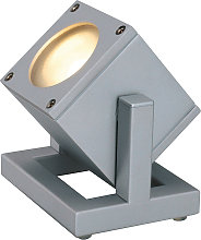 SLV Cubix I faretto da esterno IP44 argento