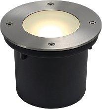 SLV Wetsy Disk faretto LED da incasso, rotondo