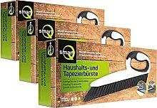 smartQ Set di 3 spazzole per tappezzeria