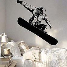 Snowboard Vinile Wall Sticker Ragazzi Camera