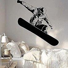 Snowboard Vinyl Wall Decal Boy Room Decoration