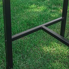 SoBuy Set 5 pezzi Tavolo con 4 sedie alto, Set di