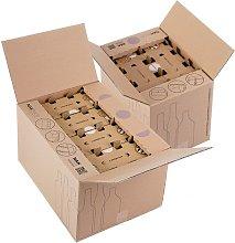 Socepi - Scatola Nakpack per spedizione bottiglie