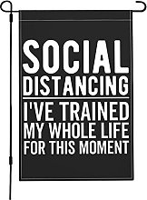 Social Distancing I've Trained for This My