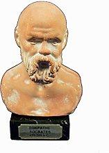 Socrates scultura busto antico filosofo greco