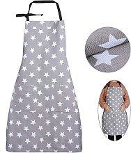 SOEKAVIA Grembiule stella con grembiule da cucina