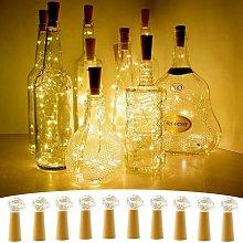 Soekavia - Set di ghirlande di bottiglie a LED da