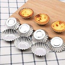 SOEKAVIA Stampo per cupcake da 32 pezzi, stampi