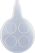 SOFEA - Teglia da forno, 4/8 fori, in vetro, in