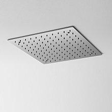 Soffione doccia a soffitto 40x40 cm in acciaio