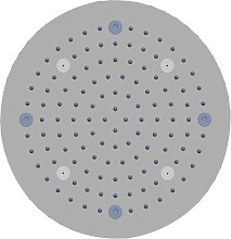 Soffione doccia a soffitto installazione da