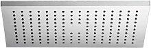 Soffione doccia ultraslim rettangolare 24x36cm