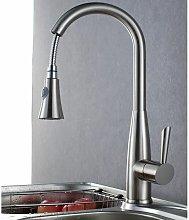 Sofisticato rubinetto da cucina estraibile