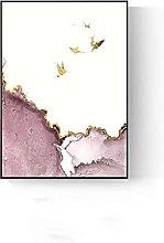 Soggiorno decorativo pittura divano sfondo parete