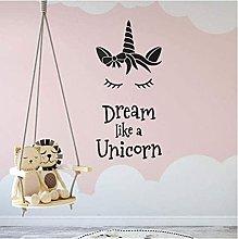 Sogna Come Una Personalità Adesivo Da Parete