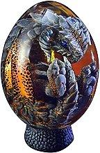 Sogno di cristallo trasparente uovo di drago