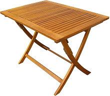 SOLEA - tavolo da giardino pieghevole salvaspazio