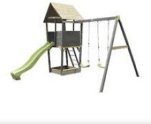 SOLO torre da gioco in legno per bambini con