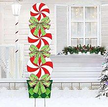 Somerway - Cartelli natalizi per giardino,