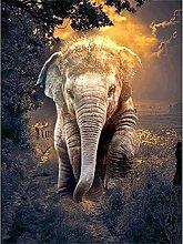 SongYww 5D Diamond Painting Kit Completo Elefante
