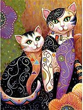 SongYww 5D Diamond Painting Kit Completo Gatto