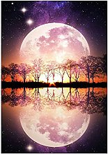 SongYww 5D Diamond Painting Kit Completo Tramonto