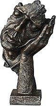 Soprammobile Famiglia Il silenzio della statua