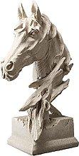 Soprammobile Famiglia Leone Sculpture Resina
