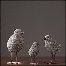 Soprammobile Famiglia Statua di pollo creativo 3