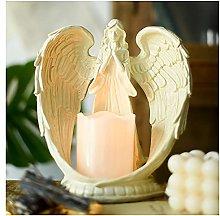 Soprammobile Famiglia Vintage Angels Statua in