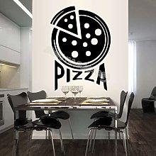 Sottile Pizza Italiana Adesivo Murale Pizzeria