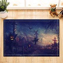 Spaventapasseri e pipistrello volante in legno con