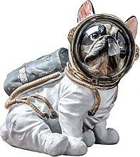 Spazio Cane Modello Animali Statua Artigianato In