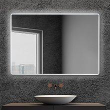Specchiera bagno 105x70 reversibile completa di