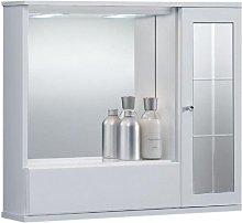 Specchiera mobile contenitore da bagno GIOVE 60