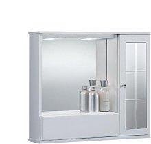 Specchiera mobile contenitore da bagno GIOVE 70