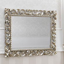 Specchiera Zaafira stile Barocco cornice traforata