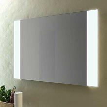 Specchio bagno led 100x70 cm senza cornice