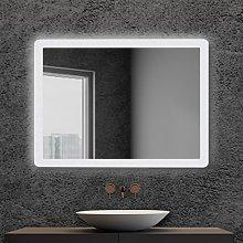 Specchio bagno retroilluminato LED 60x80 cm con