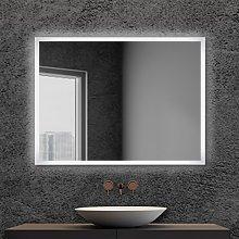 Specchio bagno retroilluminato LED 80x60 cm con