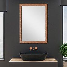 Specchio con Cornice Mosaico Rame 68x88 cm