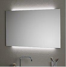 Specchio da bagno cm 100x80 modello AMBIENTE LED