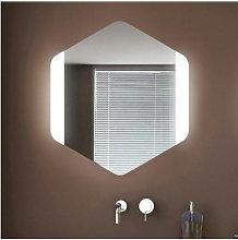 Specchio da parete 'Esagono Frontale' con