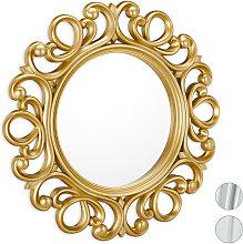 Specchio Decorativo Rotondo, da Parete, con